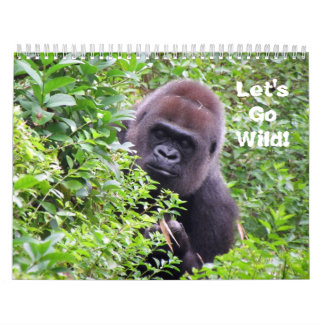 Let's Go Wild - Wild Animal Calendar (Encore)