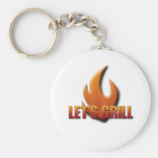 Let's Grill Keychain