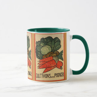 Let's Grow a Vegetable Garden Mug (Plated)