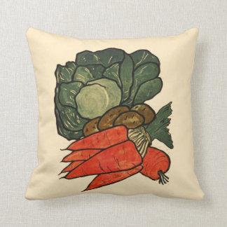 Let's Grow a Vegetable Garden Throw Pillow
