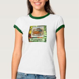 Let's grow vegetables, pumpkin tee shirts