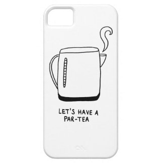 Let's Have a Par-Tea iPhone 5 Case