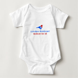 Let's Have Berniecare - Medicare For All Baby Bodysuit