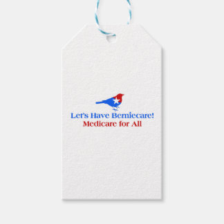 Let's Have Berniecare - Medicare For All Pack Of Gift Tags