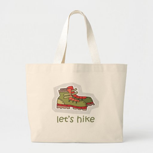 Let's Hike Canvas Bags
