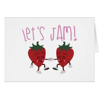 Lets Jam Card