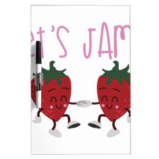 Lets Jam Dry-Erase Boards