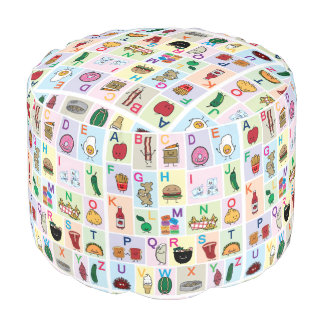 Lets learn the ABC's! Teach kids and babies about Pouf