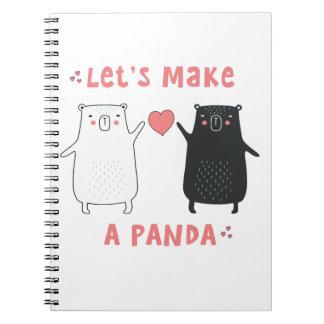 let's make a panda notebooks