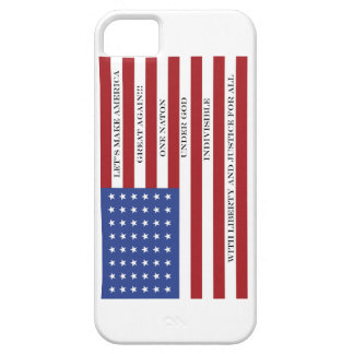 Let's Make America Great Again!  Americana  MAGA iPhone 5 Cover