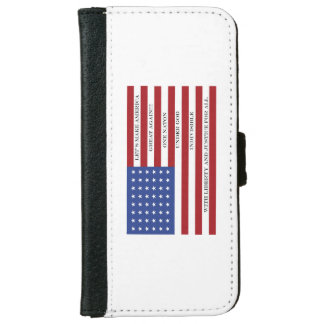 Let's Make America Great Again!  Americana  MAGA iPhone 6 Wallet Case