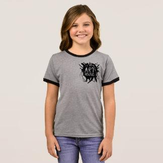 Lets Make Art 2 Ringer T-Shirt