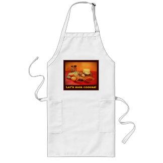 Let's make cookies! long apron