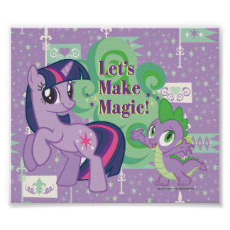Lets Make Magic Poster