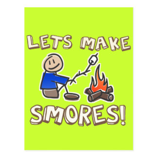 Lets make S'mores! Postcard