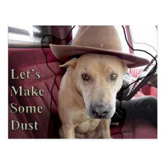 Let's Make Some Dust...Mookie Says Postcard