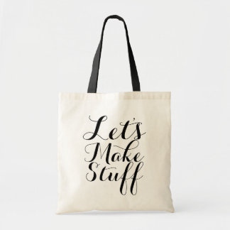 Let's Make Stuff • Crafts Tote Bag