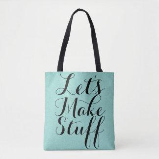 Let's Make Stuff • Crafts Tote Bag