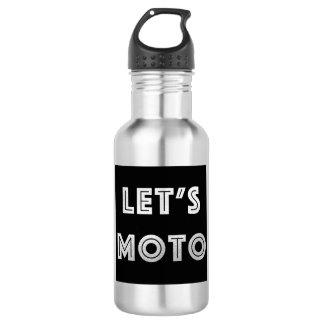 Let's Moto 532 Ml Water Bottle