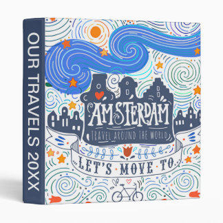 Let's Move To Amsterdam Binder
