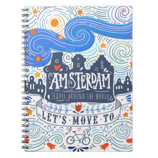 Let's Move To Amsterdam Notebook