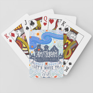 Let's Move To Amsterdam Playing Cards