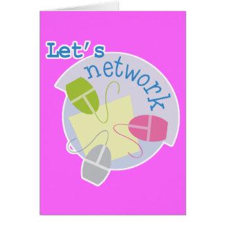 lets network computer design card