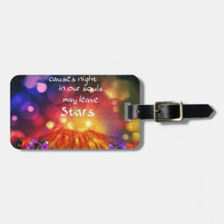 Lets out the best in you luggage tag