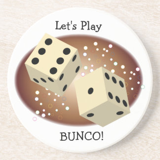 Let's Play Bunco Coasters