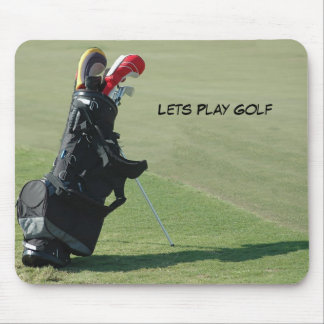 Lets Play Golf Mouse Pad