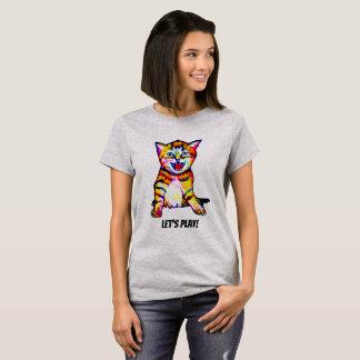 Lets Play Kitty Shirt