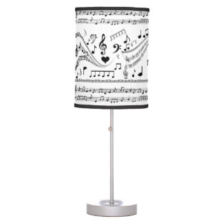 Let's Play Music_ Table Lamp