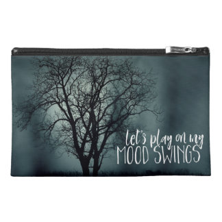 Let's Play on My Mood Swings Spooky Tree Photo Travel Accessory Bag