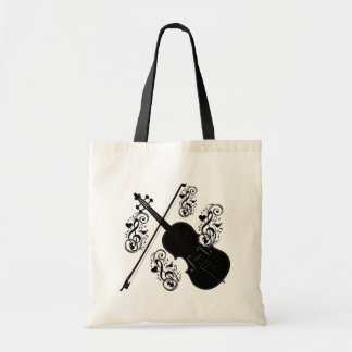 Let's Play,Violin_ Tote Bag