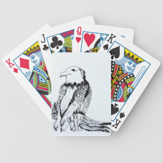 Let's Prey Eagle Bicycle Playing Cards