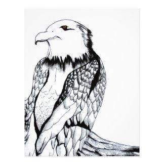 Let's Prey Eagle Letterhead