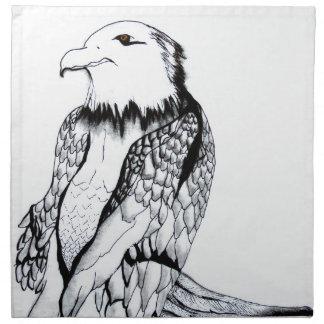 Let's Prey Eagle Napkin