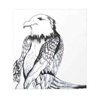 Let's Prey Eagle Notepad