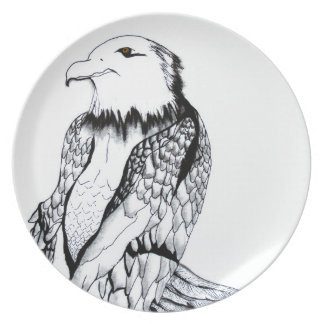 Let's Prey Eagle Plate
