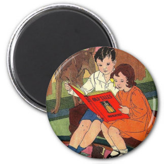 Let's Read a Story Magnet