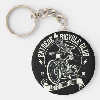 Let's Ride Bike Extreme Bicycle Club BMX Keychain