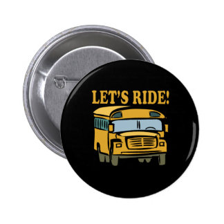 Lets Ride 2 Inch Round Button