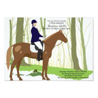 Let's Ride Equestrian Invitation
