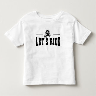 Let's Ride MTB Toddler T-shirt