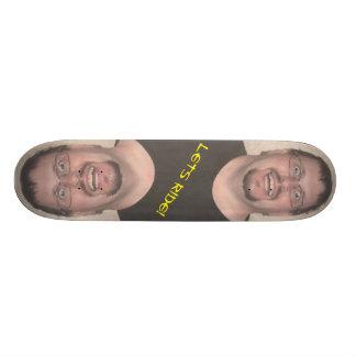 Let's Ride SkateBoard