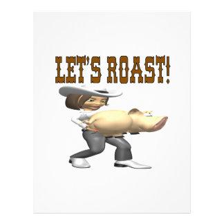 Lets Roast Flyer Design