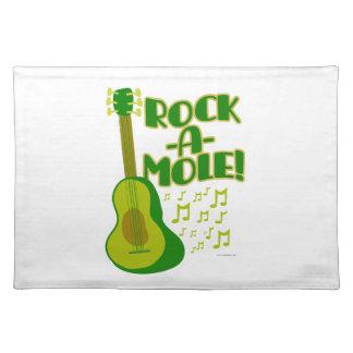 Lets Rock-A-Mole Placemat