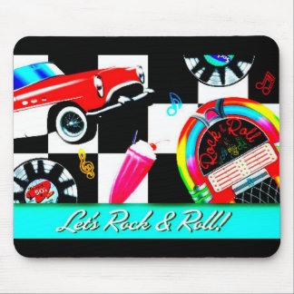 Let's Rock & Roll Mouse Pad