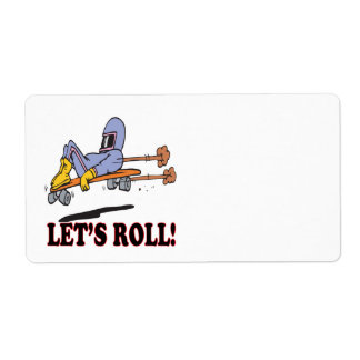 Lets Roll 2 Shipping Label