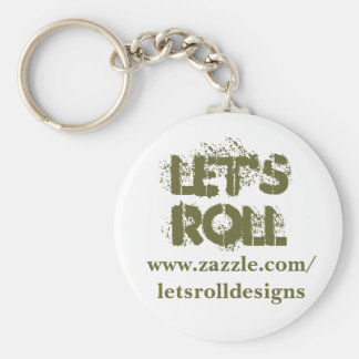 Let's Roll Key Chain